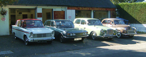 Sussex Classics Ltd Specialists In Affordable Classic Motor Vehicles